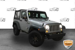 Used 2014 Jeep Wrangler 4WD 2dr Sport for sale in Sault Ste. Marie, ON