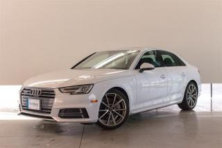 Used 2017 Audi A4 2.0T Progressiv 7sp S tronic for sale in Langley City, BC