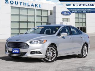 Used 2014 Ford Fusion SE LEATHER|MOONROOF|NAV for sale in Newmarket, ON