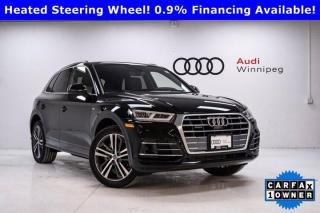 Used 2020 Audi Q5 Technik w/Advanced Driver Assist & S-Line *DEMO* for sale in Winnipeg, MB