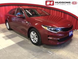 Used 2016 Kia Optima LX One Owner | Keyless Entry | Alloy Wheels for sale in Listowel, ON