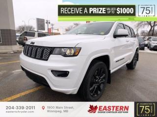 New 2021 Jeep Grand Cherokee Altitude | Blind Spot Detection | Backup Cam | for sale in Winnipeg, MB