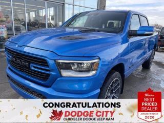 New 2021 RAM 1500 Sport | 4x4 | Crew Cab | 5.7 Box for sale in Saskatoon, SK