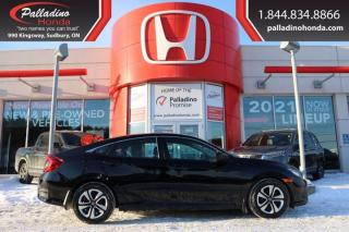 Used 2017 Honda Civic Sedan LX - HEATED SEATS BACK UP CAMERA - for sale in Sudbury, ON