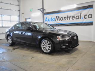 Used 2013 Audi A4 2.0T Premium A4 QUATTRO 2.0T PNEUS D'HIVER CUIR TOIT OUVRANT 79$/SEMAINE for sale in Vaudreuil-Dorion, QC