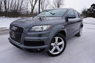 Used 2010 Audi Q7 4.2 / S-LINE / NO ACCIDENTS / 7 PASSENGER / LOADED for sale in Etobicoke, ON