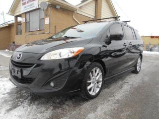 Used 2012 Mazda MAZDA5 GT 2.5L Auto 6Passenger Loaded Heated Seats 193Km for sale in Rexdale, ON