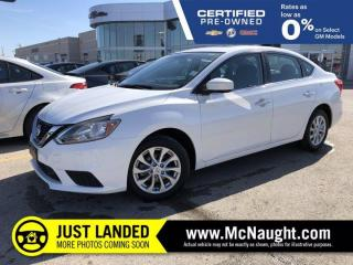 Used 2019 Nissan Sentra SV FWD | Heated Seats | Sunroof | Touchscreen Radio for sale in Winnipeg, MB