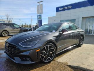 New 2021 Hyundai Sonata N-LINE: LAUNCH CONTROL/REV MATCHING/2.5L TURBO for sale in Edmonton, AB