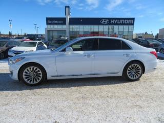 Used 2017 Genesis G90 ULTIMATE/PANO ROOF/HEADS UP/COOLED SEATS for sale in Edmonton, AB
