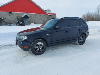Used 2007 BMW X3 3.0 SI for sale in Cornwall, ON