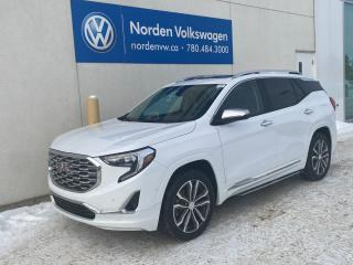 Used 2018 GMC Terrain DENALI AWD - HTD LEATHER SEATS / NAVI / SUNROOF for sale in Edmonton, AB