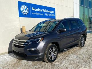 Used 2017 Honda Pilot EX-L - LEATHER / SUNROOF / HTD SEATS for sale in Edmonton, AB