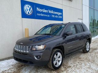 Used 2015 Jeep Compass HIGH ALTITUDE 4X4 - LEATHER / SUNROOF / LOADED! for sale in Edmonton, AB