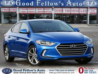 Used 2017 Hyundai Elantra GLS MODEL, REARVIEW CAMERA, DRIVER ASSIST, SUNROOF for sale in Toronto, ON
