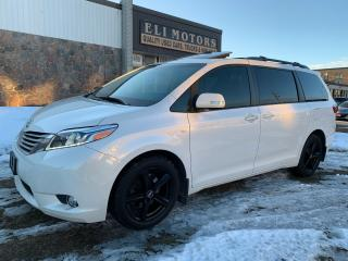 Used 2017 Toyota Sienna LIMITED AWD PANO ROOF NAVI REAR CAM TV-DVD BSM for sale in North York, ON
