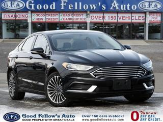 Used 2018 Ford Fusion SE WOOD TRIM, REARVIEW CAMERA, MEMORY SEATS, NAVI for sale in Toronto, ON