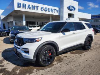New 2021 Ford Explorer ST for sale in Brantford, ON