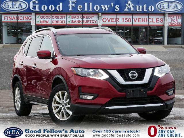 2018 Nissan Rogue SV AWD, 360° CAMERA, NAVI, PANROOF, HEATED SEATS
