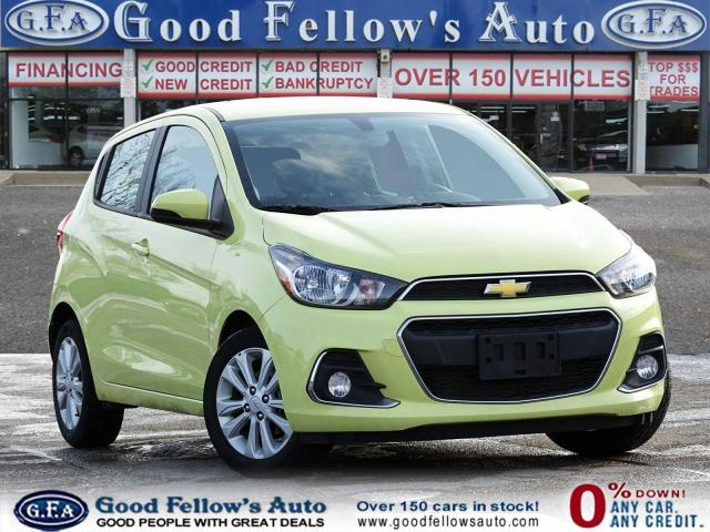 2017 Chevrolet Spark LT MODEL, REARVIEW CAMERA, BLUETOOTH