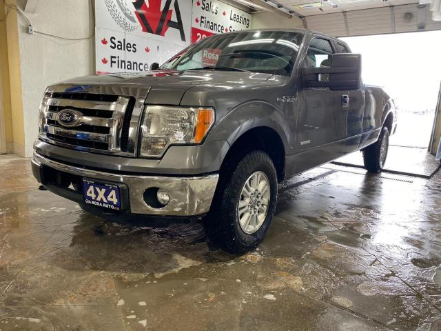 """2012 Ford F-150 4WD SuperCab 163"""" NO ACCIDENT 1 OWNER SAFETY ALLOY"""