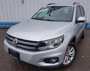 Used 2017 Volkswagen Tiguan Wolfsburg 4MOTION *LEATHER* for sale in Kitchener, ON