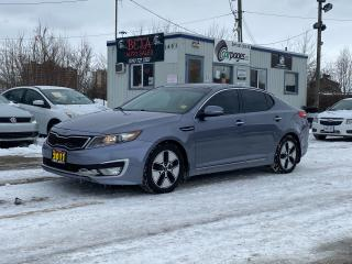 Used 2011 Kia Optima Hybrid Premium for sale in Kitchener, ON