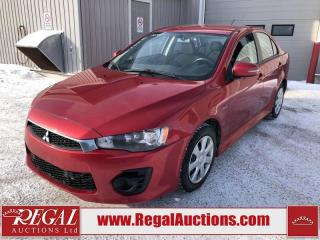 Used 2016 Mitsubishi Lancer ES 4D Sedan AT 2.0L for sale in Calgary, AB