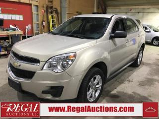 Used 2011 Chevrolet Equinox LS 4D  UTILITY for sale in Calgary, AB