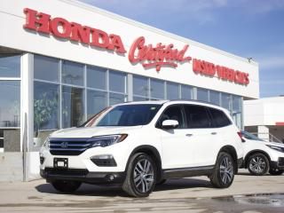 Used 2017 Honda Pilot Touring | NAV | DVD | NO ACCIDENT for sale in Winnipeg, MB