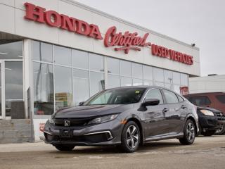 Used 2019 Honda Civic LX | HONDA SENSING | LOCAL for sale in Winnipeg, MB