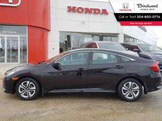 Used 2016 Honda Civic LX Heated Seats - Bluetooth - Back-Up Cam for sale in Winnipeg, MB