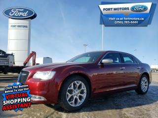 Used 2017 Chrysler 300 Platinum  - Sunroof -  Leather Seats - $219 B/W for sale in Fort St John, BC