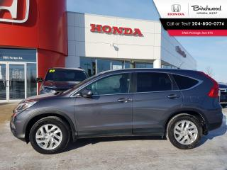 Used 2016 Honda CR-V EX Heated Seats - Sunroof - LaneWatch - Back-Up Cam - Bluetooth for sale in Winnipeg, MB