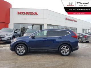 Used 2018 Honda CR-V EX-L Leathed - Heated Steering - Apple CarPlay - Android Auto for sale in Winnipeg, MB