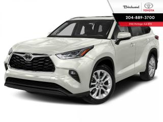 New 2021 Toyota Highlander Limited with PREMIUM PAINT for sale in Winnipeg, MB