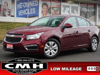 Used 2017 Chevrolet Cruze Limited LT w/1LT  CAM BLUETOOTH REM-START for sale in St. Catharines, ON