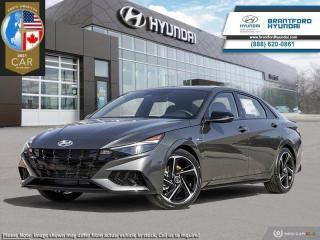 New 2021 Hyundai Elantra N-Line DCT  - $169 B/W for sale in Brantford, ON