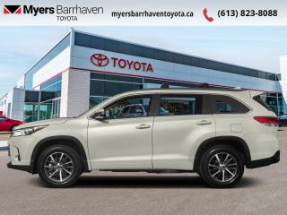 Used 2018 Toyota Highlander XLE AWD  - Navigation -  Sunroof - $243 B/W for sale in Ottawa, ON