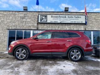 Used 2015 Hyundai Santa Fe XL Limited XL AWD /sunroof /leather/Navigation for sale in Calgary, AB