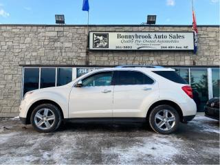 Used 2014 Chevrolet Equinox LTZ /AWD/leather/navigation/car starter/Sunroof/ for sale in Calgary, AB