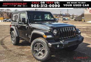 New 2021 Jeep Wrangler Sport S | Tech Grp | Cold Weather Grp | for sale in Hamilton, ON