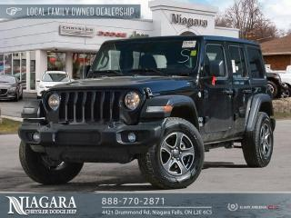 Used 2020 Jeep Wrangler UNLIMITED SPORT for sale in Niagara Falls, ON