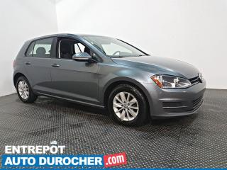 Used 2016 Volkswagen Golf - TRENDLINE - AIR CLIMATISÉ -  CAMÉRA DE RECUL for sale in Laval, QC