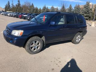 Used 2004 Toyota Highlander 7-Passenger for sale in Whitby, ON