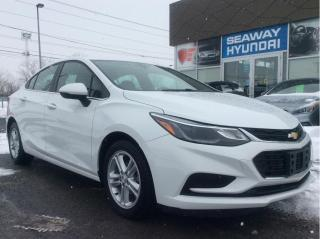 Used 2018 Chevrolet Cruze LT - 1SD - Backup Camera - Bluetooth - Starter for sale in Cornwall, ON