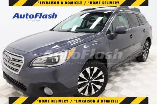 Used 2017 Subaru Outback LIMITED 3.6L AWD *CUIR/LEATHER *GPS/CAMERA *TOIT for sale in Saint-Hubert, QC