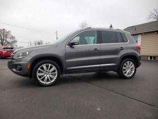 Used 2017 Volkswagen Tiguan 4MOTION 4dr Comfortline for sale in Stoney Creek, ON