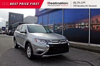 Used 2018 Mitsubishi Outlander ES-local, non smoker, great price with AWD! for sale in Vancouver, BC