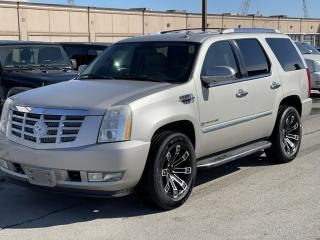 Used 2009 Cadillac Escalade FULLY LOADED AWD 4DR /1 YEAR WARRANTY INCLUDED for sale in Brampton, ON